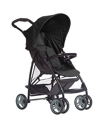 a one-click travel system which includes a lightweight pushchair and snugride car seat offering style and value for all your travels from birth