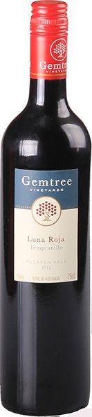 Gemtree Luna Roja Organic Tempranillo 2012.