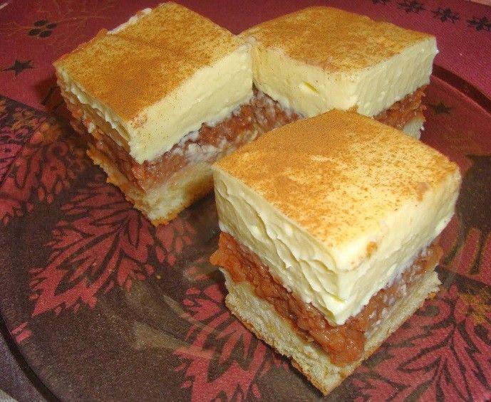 Almás – vaníliakrémes mámor, csábító ízű mutatós sütike! - MindenegybenBlog