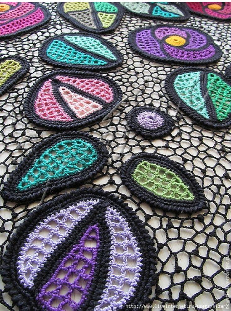crochelinhasagulhas: crochê irlandês