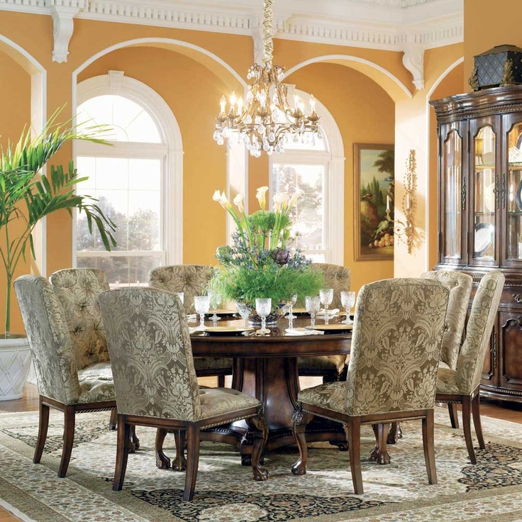 11 best Dining Room images on Pinterest | Round dining room tables ...