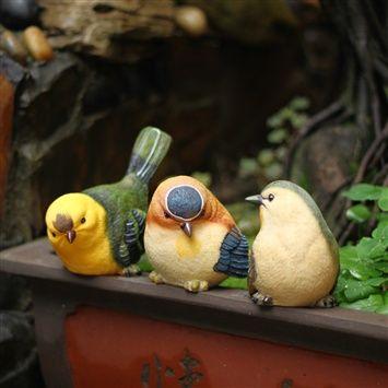Cute Bird Ornaments (coupon code 3offpin) #gardening #outdoor