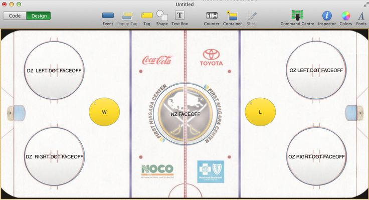 Amazingly simple & visual way to track Faceoff % with #icoda #iPad & #SportsCode.