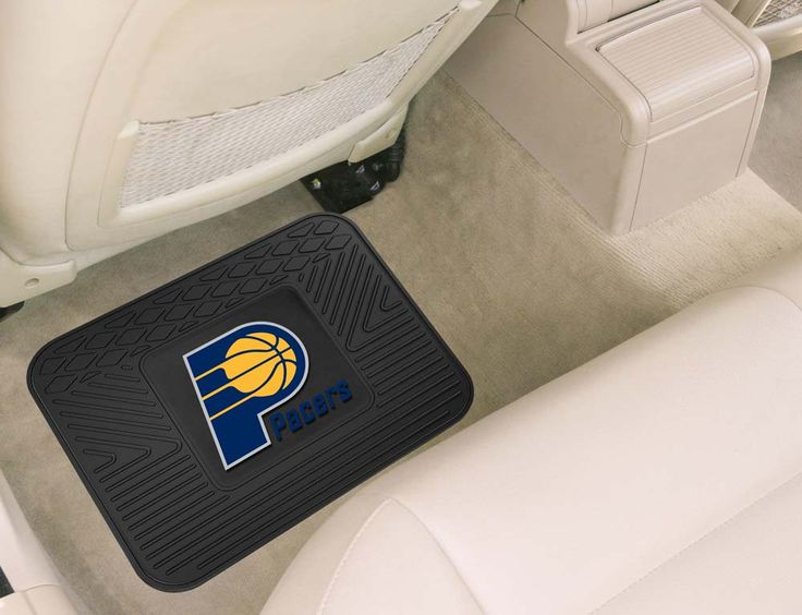 """""""Indiana Pacers 14"""""""" x 17"""""""" Utility Mat (Set of 2)"""": Boast your team colors with this NBA utility mat by… #Sport #Football #Rugby #IceHockey"""