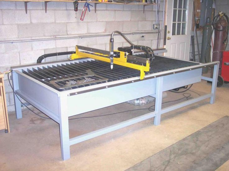 how to build a cnc plasma cutting table