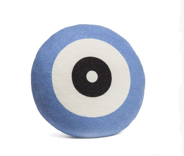 Wendt Design pude – Dot i lyseblå farve - Tinga Tango Designbutik