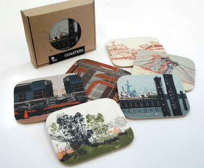 Future Shelter: Industry - a new Port Hedland coaster set