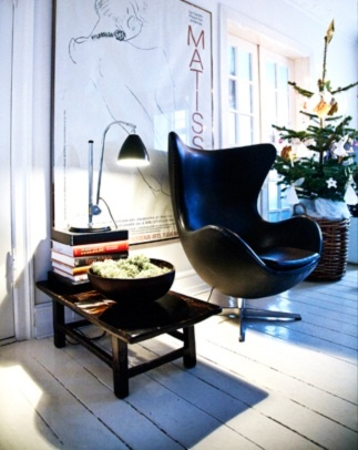 Egg Chair · Egg ChairStool ChairArne JacobsenHouse ...