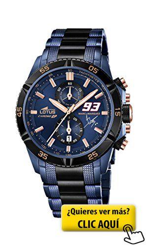 Lotus 18230/1 - Reloj de pulsera hombre, Acero... #reloj #hombre