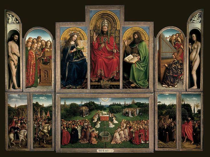 Гентский алтарь, 1432