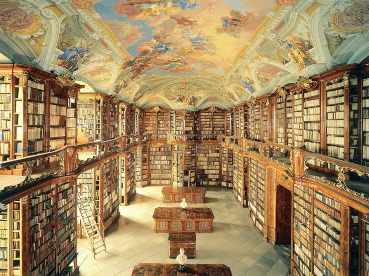 love, love this library!!! The Admont Library in Admont, Austria