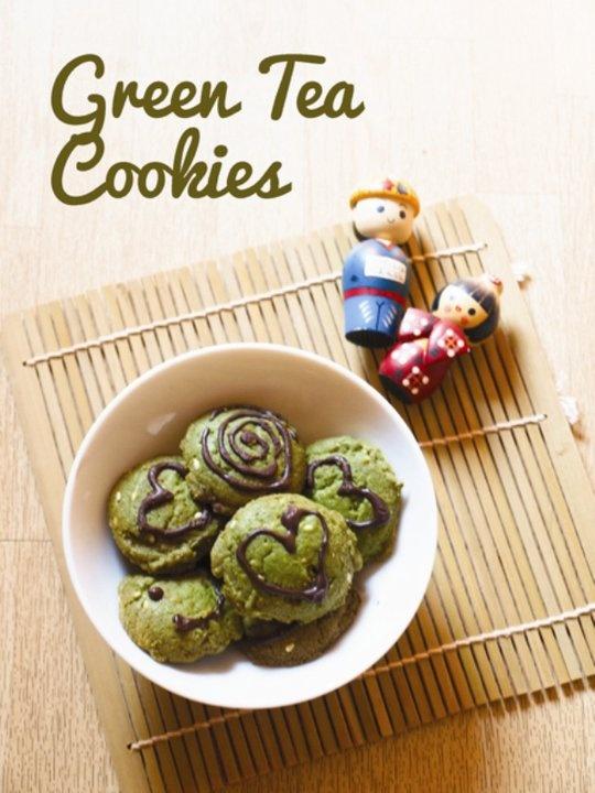 monday cookies dash : green tea cookies