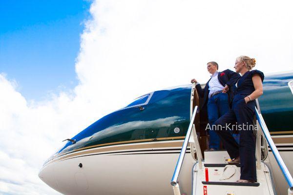 Ann-Kristina Al-Zalimi, Jetflite, charter, charter lentokone, lentokone