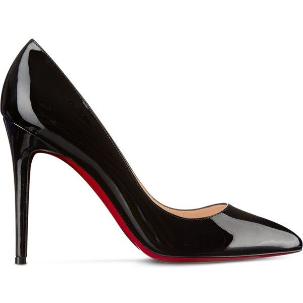 CHRISTIAN LOUBOUTIN Pigalle 100 patent calf (2.210 BRL) ? liked ...