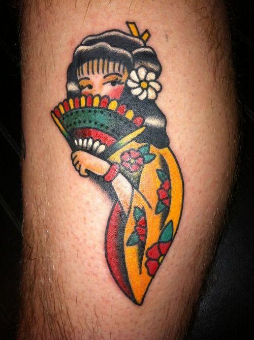 Geisha Tattoo - http://16tattoo.com/geisha-tattoo-2/