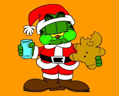 1000 images about christmas garfield on pinterest - Garfield noel ...