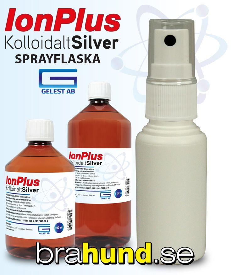 Kosmetikaflaska i plast 30 ML med spayer - perfekt sprayflaska till kolloidalt silver. Sprayflaska tom komplett 30 ML, perfekt till kolloidalt silver (Ag) med mera. Livsmedelsgodkänd tom sprayflaska med mängder av användningsområden - inte bara till silve