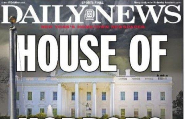 Η New York Daily News αναποδογύρισε την αμερικανική σημαία - ΦΩΤΟ