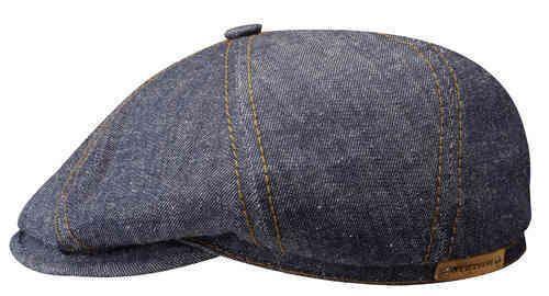 Stetson Flatcap Ballonmütze Fairbank Denim Jeans