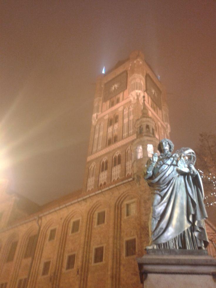 Statue of Nicolaus Copernicus Torun, Poland ;)