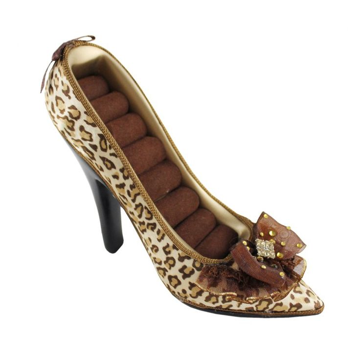 Pin-Up Cheetah Shoe Ring Holder