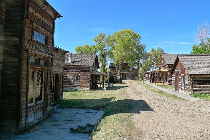 """Nevada City, Montana (dove è stato girato il ilm""""Piccolo grande uomo"""" con Dustin Offman"""