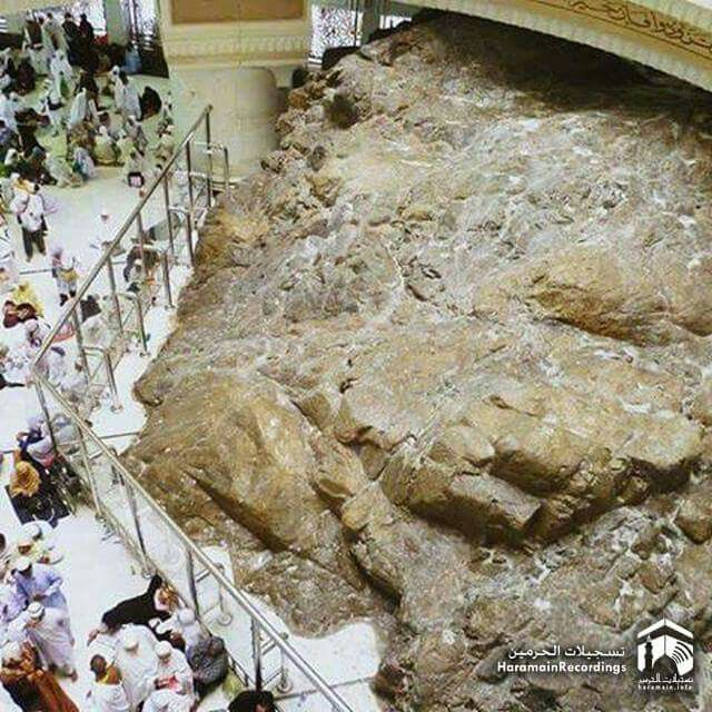 Beautiful view of jabl Saffa #Mecca All Marry&Jesus life places have to be respect like her
