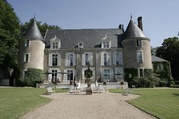 Chateau de Pray. Chinon. Hôtel