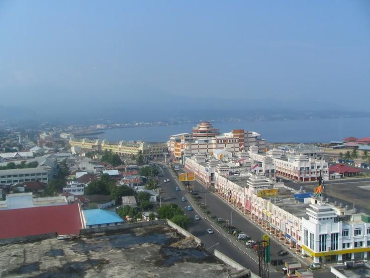 Manado,  in North Sulawesi, Indonesia City of Manado ...