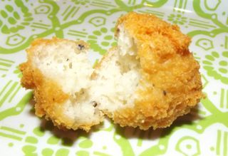 """Deep-fried parmesan cheese puffs ... similar to a recipe I lost when the recipe book was """"borrowed""""! Happy to find this."""