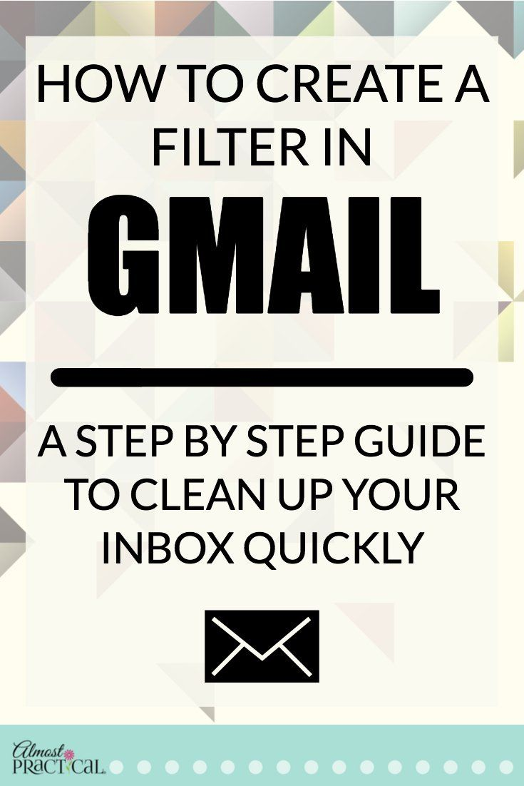 How to create a filter in Gmail - use these Gmail tips and hacks to organize your inbox quickly.