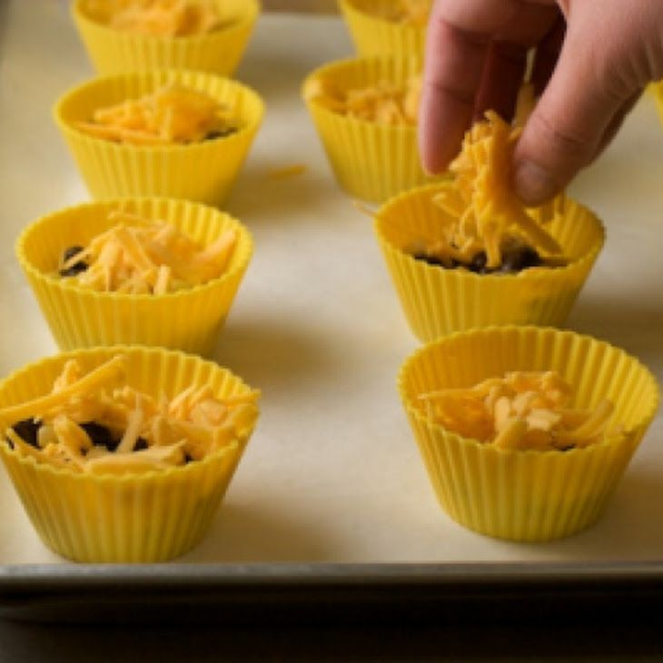 Southwest Style Egg Muffins with Black Beans and Corn Recipe | recipes ...