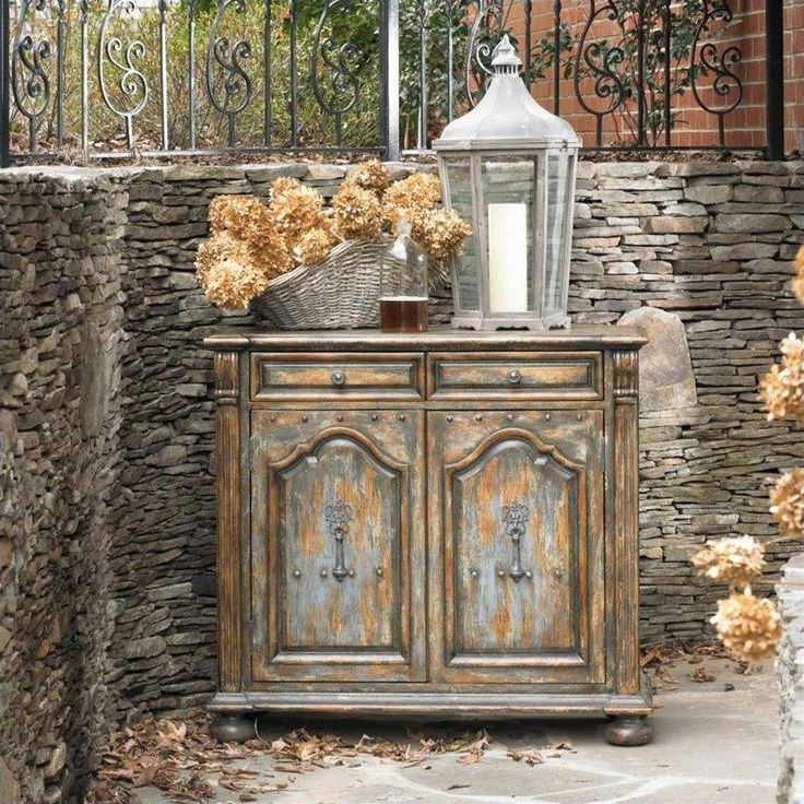 Hooker Furniture Wakefield Two-Door Two-Drawer Accent Chest with Bun Feet