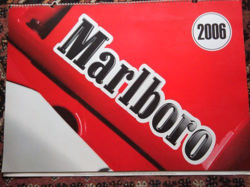 Buy VINTAGE Scuderia Ferrari F1 Marlboro & Ducati MotoGP 3D Racing Calendar 2006for R750.00