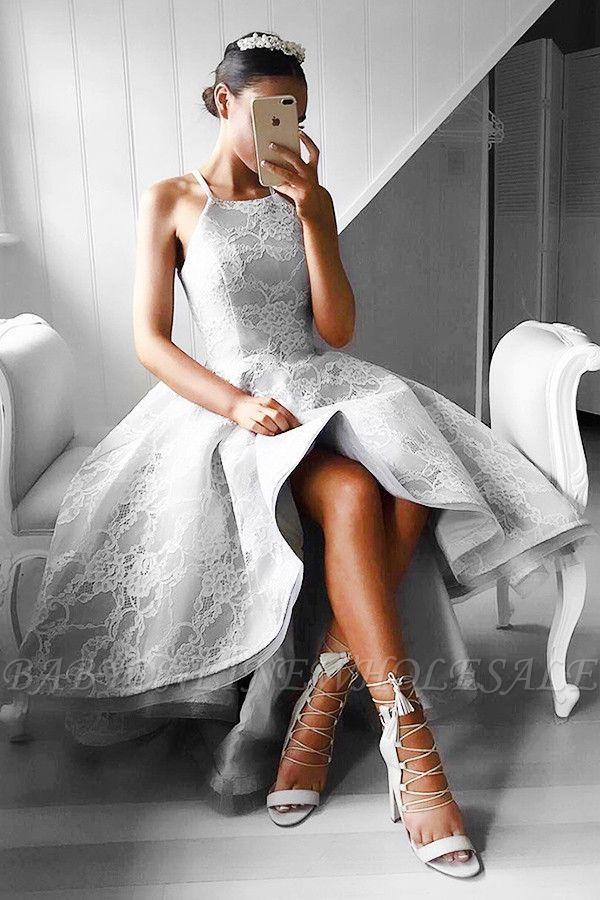 Silber Abendkleider Kurz Vorne Hinter Lang ...