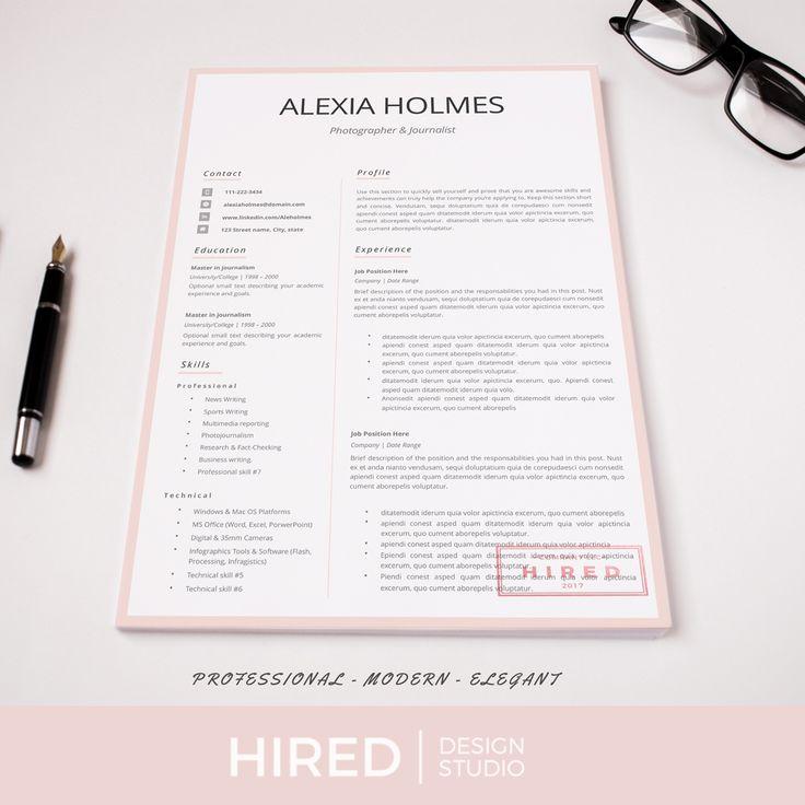Resume templates Modern Professional Resume design CV