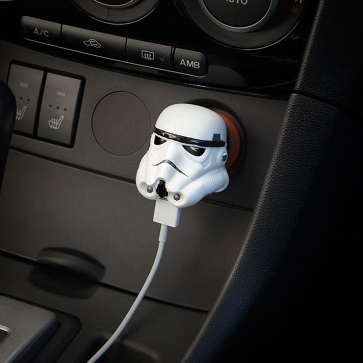 Star Wars Stormtrooper USB Car Charger gifts for road trips lovers