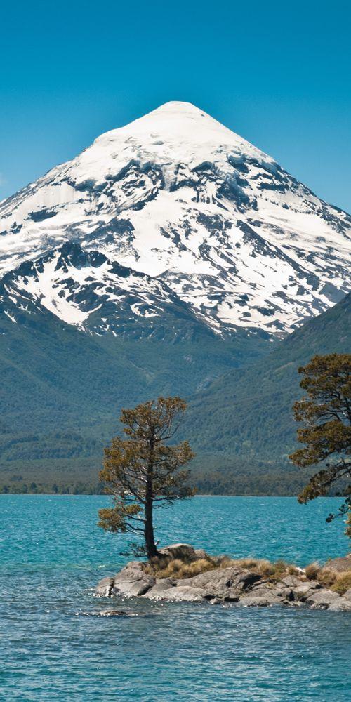 Volcan Lanin Unico Parque Nacional Lanin Junin de los Andes Neuquen Argentina