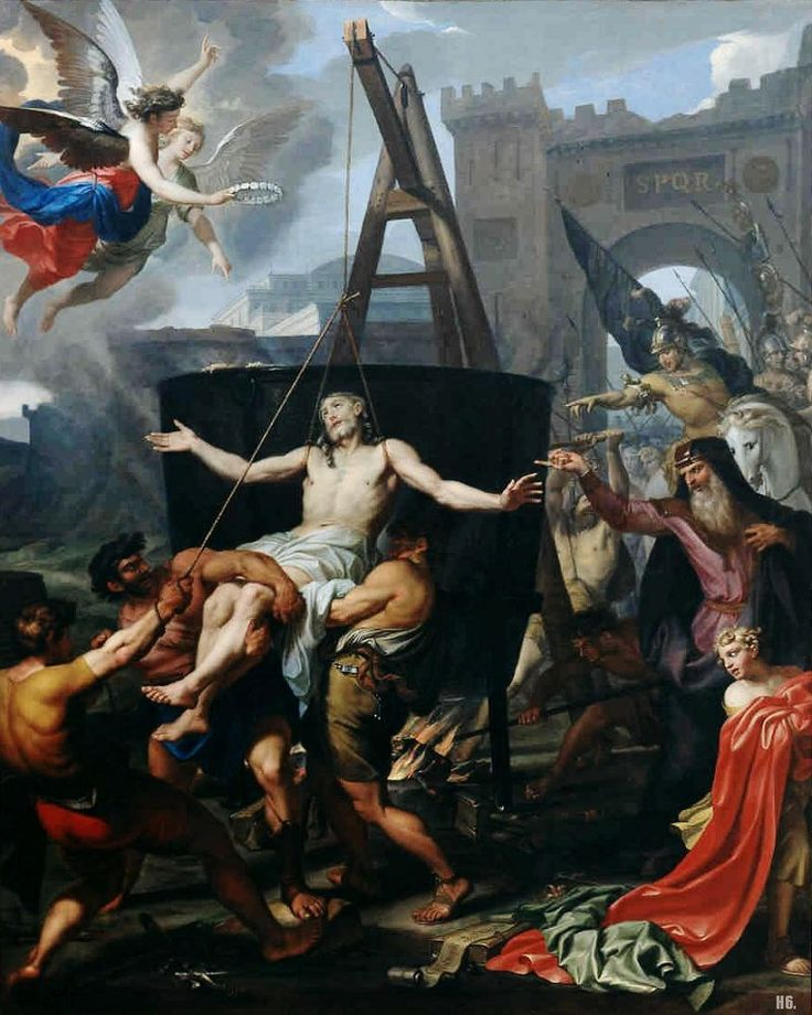 Daniel Halle, The Martyrdom of Saint John, 1662