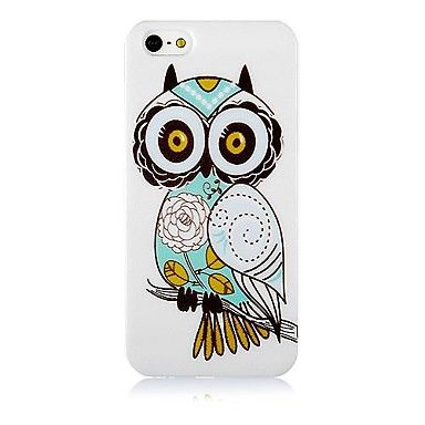 Owl Pattern Silicone Soft Case for iPhone5/5S                                   – EUR € 2.75