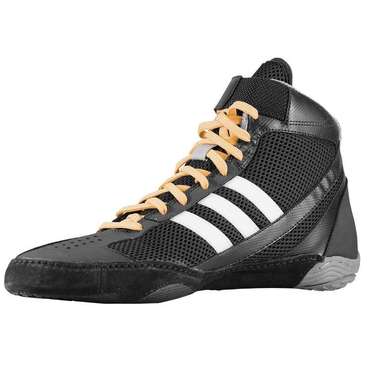 "Adidas ""Response 3.1"" Mens Wrestling Shoes - Black / White / Gold"