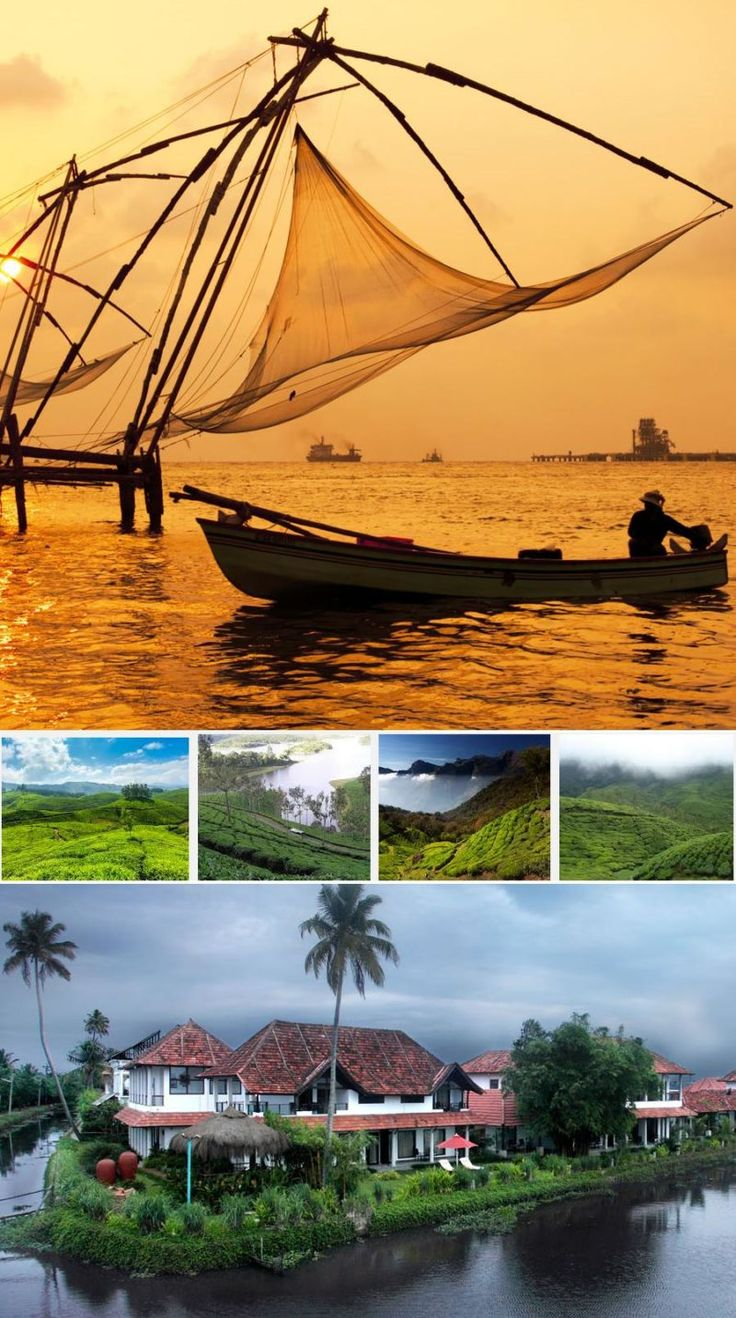 Kerala Tour 7n/8d - Tours From Delhi - Custom made Private Guided Tours in India - http://toursfromdelhi.com/kerala-tour-package-7n8d-cochin-munnar-thekkady-alleppey-kovalam-kanyakumari/
