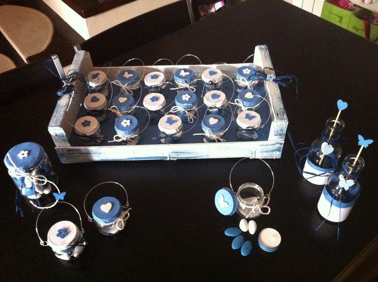 Lanterne con candele personalizzate realizzate con i vasetti di omogeneizzati
