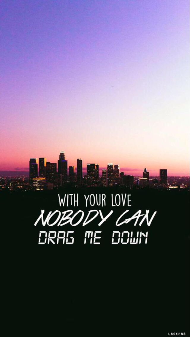 Drag Me Down x One Direction lyrics