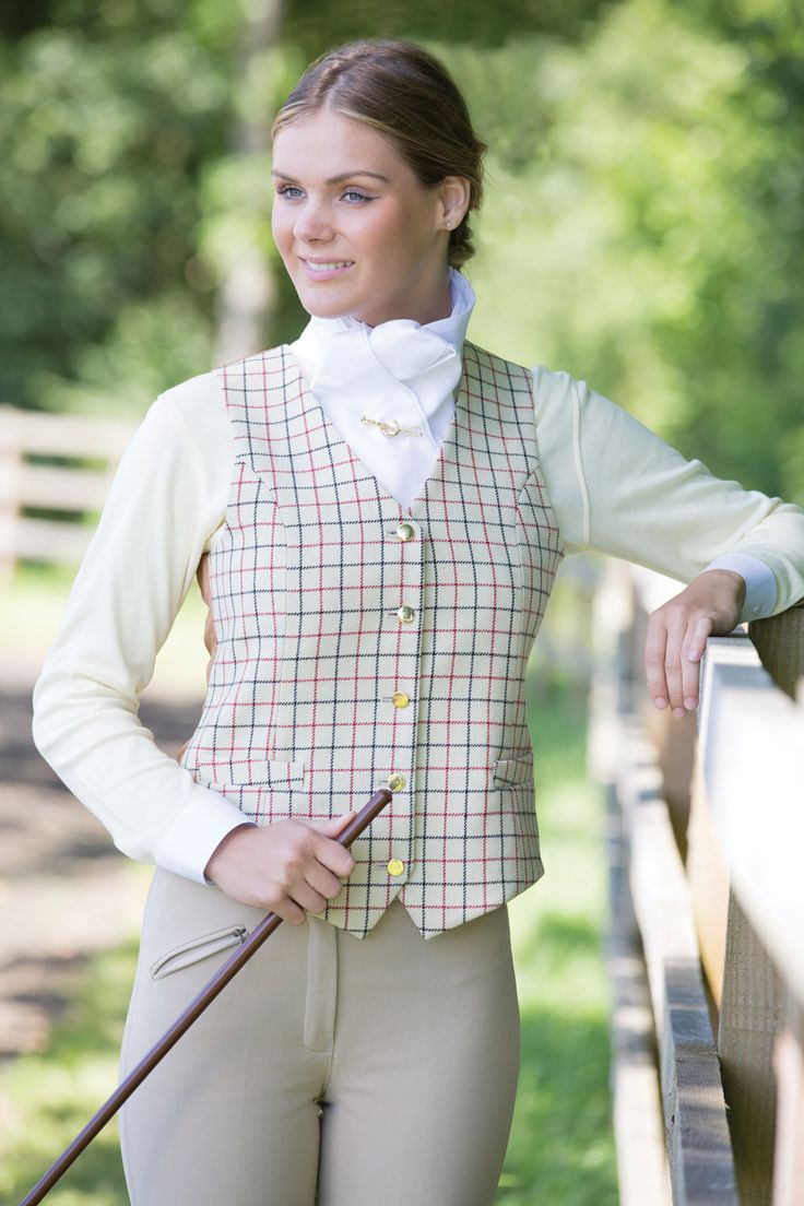 Equetech Ladies Foxhunter Waistcoat Equestrian Outfits
