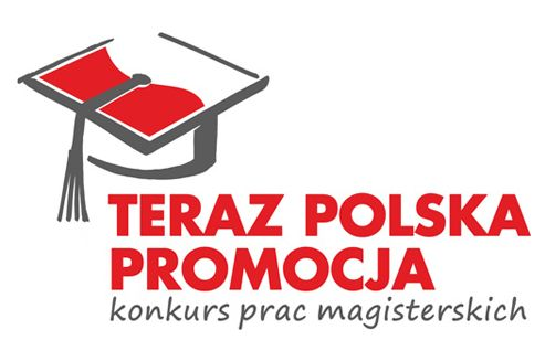 """Deadline for submission of master's thesis to the eighth edition of the contest for the best master's thesis """"Teraz Polska Promocja""""  was extended until 24 October 2014.   The contest is held under Link to Poland's media patronage."""