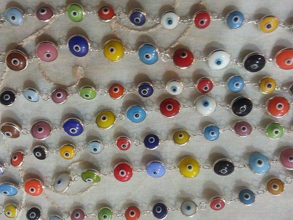 Los significados del ojo turco según los colores