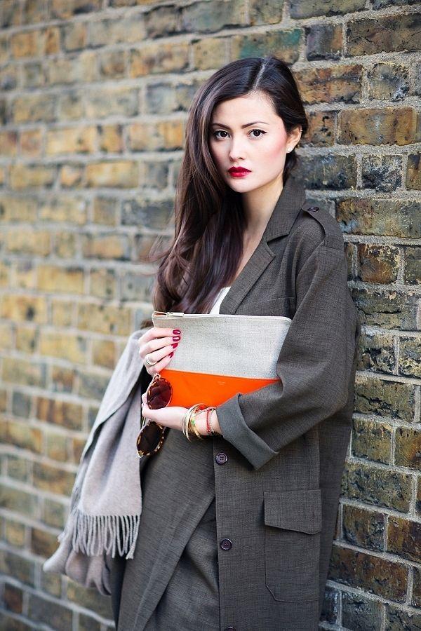 Khaki Suiting - Peony Lim