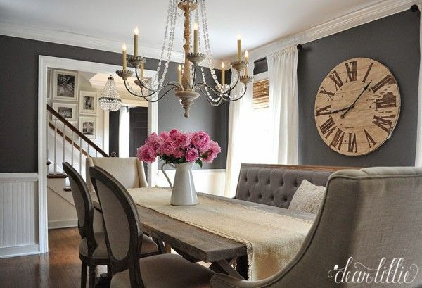 """Back again with another """"What's my home decor style?"""" and this week we are covering rustic refined. This style often gets labeled traditional or transitional"""