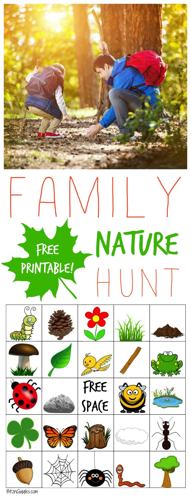 Family Nature Hunt - Melissa & Doug Blog